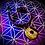 Thumbnail: Bracelet cordon cuir tressé, médaillon Oeil de tigre