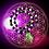 Thumbnail: Collier pendentif Serpentines oeil d'argent, perles naturelles variées