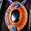 Thumbnail: Collier artisanal cuir/ Fluorite