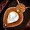 Thumbnail: Collier artisanal en Pierre de lune (PERISTERITE )