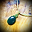 Thumbnail: Collier artisanal en cuir et Aventurine
