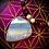 Thumbnail: Collier long pendentif Opale bleue, perles pierres naturelles variées