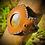 Thumbnail: Bracelet cuir/ cordon  et Rhyolite rainforest opalisée