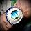 Thumbnail: Bracelet artisanal en cuir Labradorite
