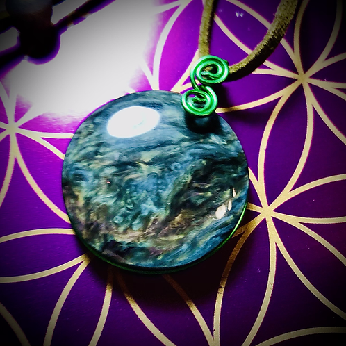 Collier Obsidienne Mentogochol