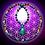 Thumbnail: Collier «Mala ethnique» pendentif Azurite/Chrysocole /Malachite, perles variée