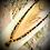 Thumbnail: Collier long pendentif Pietersite , perles pierres naturelles