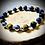 Thumbnail: Bracelet artisanal perles de pierres naturelles semi précieuses