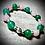 Thumbnail: Bracelet artisanal Jade et Quartz rose