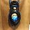 Thumbnail: Collier artisanal en cuir et LABRADORITE