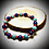Thumbnail: Bracelet artisanal pierres naturelles : Turquoises / Lapis lazuli