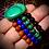Thumbnail: Bracelet Malachite/ Jaspe rouge/ Lapis-lazuli / Tourmaline