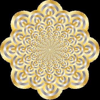 Original Vibration Boosting Meditation Artwork By Infinite Path Art.