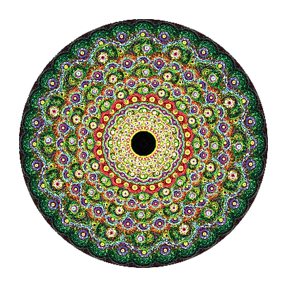 High Vibration Artwork By Infinite Path Art.
