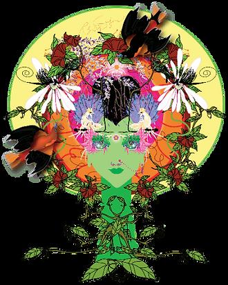 Original Kriya Yoga Artwork By Infinite Path Art.