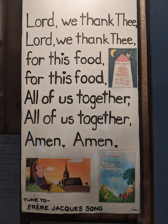 Lord We Thanks Thee