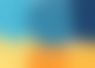 Blue to Golden Yellow Gradient