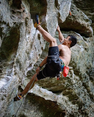 Roshampo 5.12a at Red River Gorge