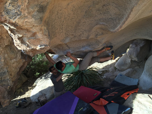 Belly of the Beast - Hueco Tanks State Park