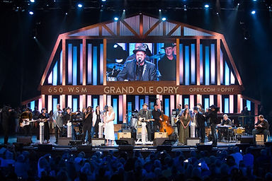 Grand Ole Opry House Stage Performance (