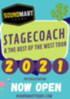 Stagecoach 2021 & The Best Of The West T