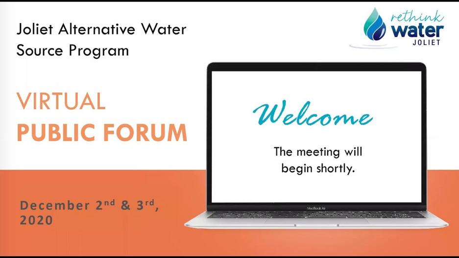 Virtual Public Forum December 2, 2020