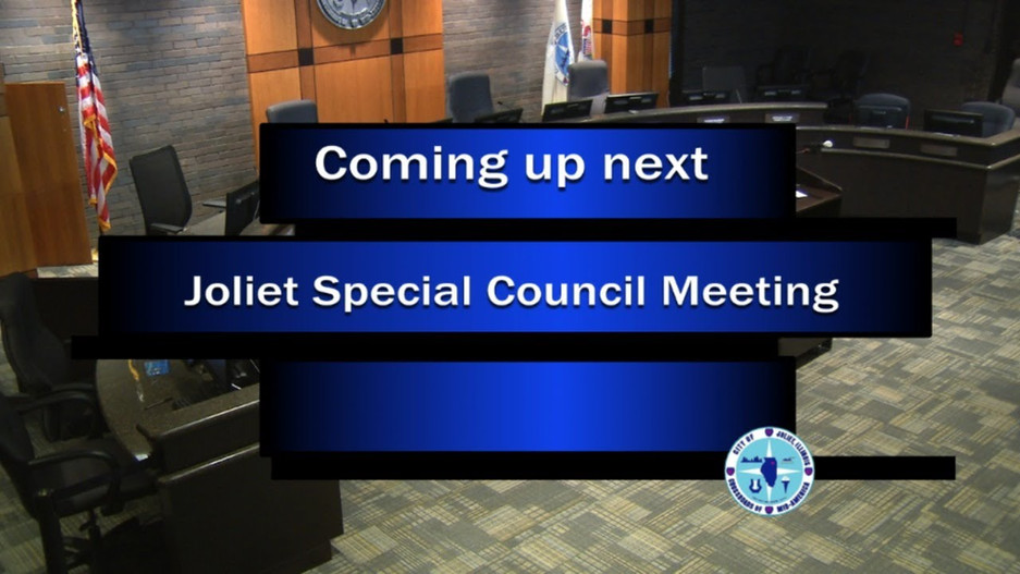 Joliet AWSP City Council Workshop - August 25, 2020