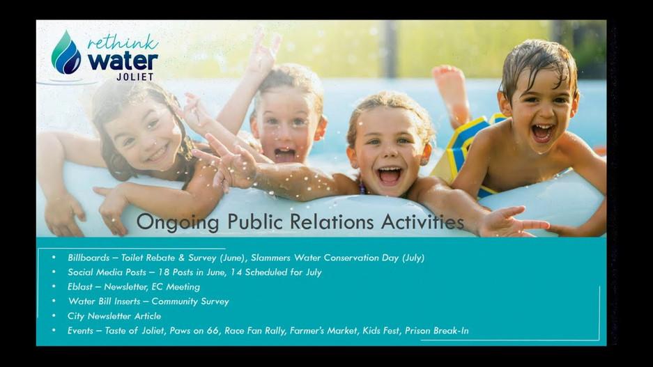 Joliet AWSP City Council Workshop - June 30, 2020