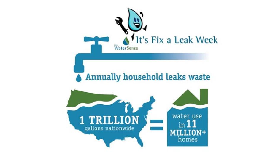Fix a Leak with WaterSense!