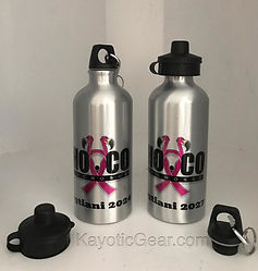 Sublimation sports printed bottle