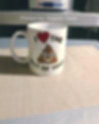 Love coffee mug printed