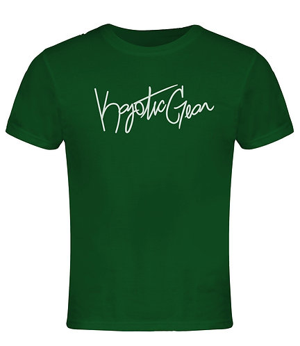 Dark Green w/White Font