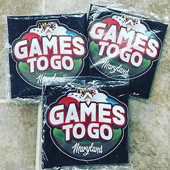 Games drawstring bags