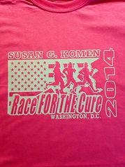 Susan Komen custom shirts