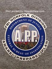 Aware prepare and plan division shirts