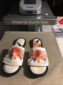 Shoes slippers Sublimation printed