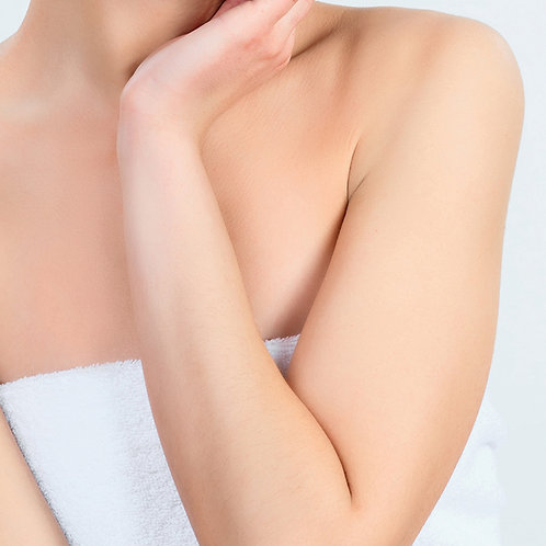 SIX SESSIONS OF LASER HAIR REMOVAL HALF ARMS
