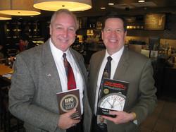 Jim with the Mayor of Burr Ridge