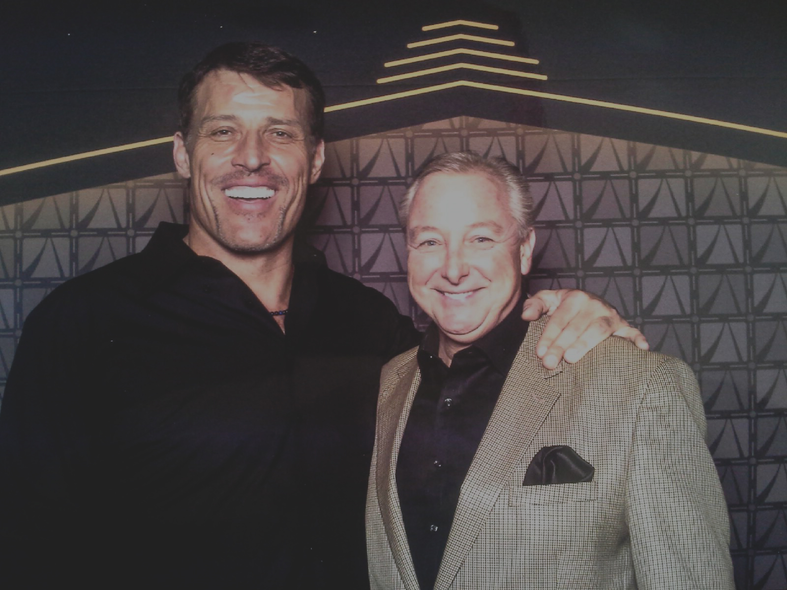 Tony Robbins and Jim