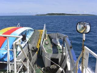 西表島まで船旅