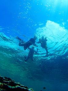 石垣島の青の洞窟、カヤックとシュノーケル