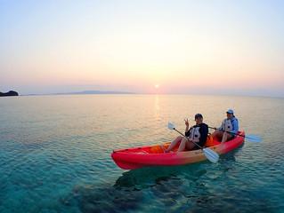 石垣島 サンセットカヤック ツアー