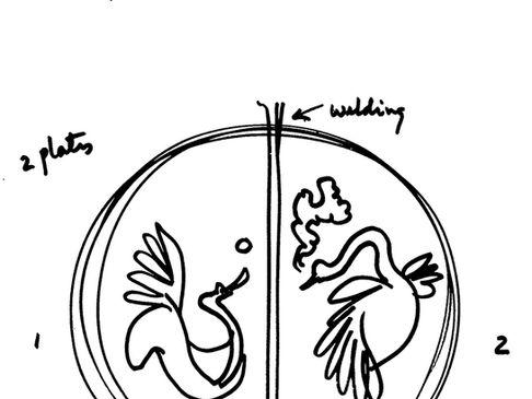 Flight of Steel, Conceptual Sketches