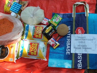 A ration kit for a month