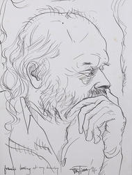 F N Souza, Artist