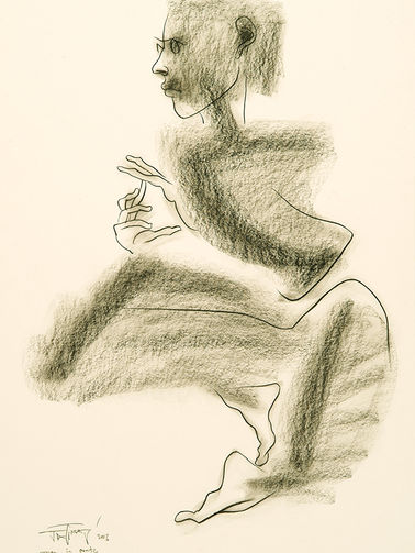Woman in Coute