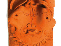 Terracotta Head, after fire