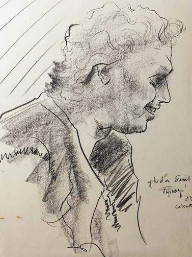 Sunil Das,  Artist