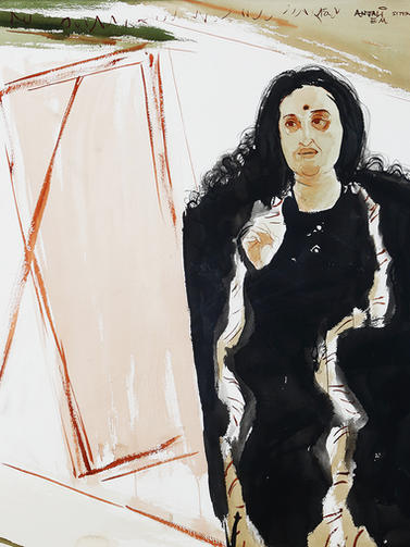 Anjolie Ela Menon, Artist