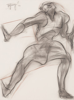 Drawings: Pencil, Conte, Ink